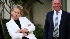 New Nationals deputy leader Bridget McKenzie with Barnaby Joyce at Parliament House in Canberra. Australian Politics, Houses Of Parliament, Citizenship, News Stories, Affair
