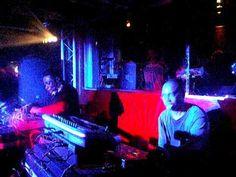 Octave One live act, punchy Detroit hard techno - Rex Club Paris, France