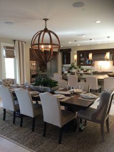 In Love With This Dining Room! Beautiful ... Home Design Ideas