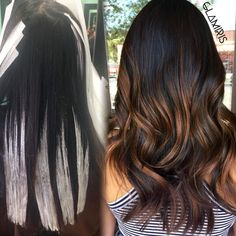 I love subtle Balayage as much as I do Bold.