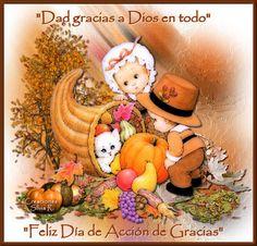 Gifs de imágenes diversas: Thanksgiving-Feliz Día de Acción de Gracias