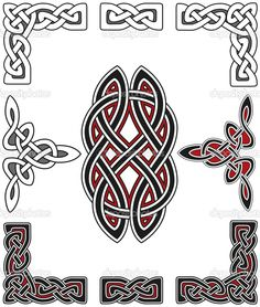 Image detail for -Set of celtic design elements | Stock Vector © Valentin Oleynikov ...