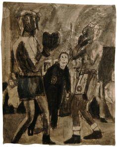 James Castle (1899-1977гг). - Музей рисунка