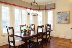 Amy Gibbs Interiors Traditional Breakfast Room