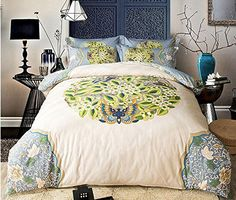 Papa&Mima Beige Floral Leaves Butterfly Bedding Set Queen King Size Bedlinens Four Seasons Duvet Cover Set Cotton 100 Cotton Duvet Covers, King Size Duvet Covers, Cotton Bedding Sets, Queen Bedding Sets, Luxury Bed Sheets, Luxury Bedding Sets, Butterfly Bedding Set, Bed Cover Sets, Cheap Bedding Sets