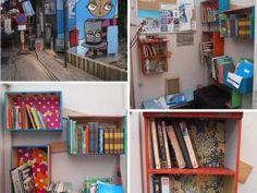• La Give Box, tu connais ? Give Box, Les Gifs, Bookcase, Photos, Shelves, Home Decor, Art, Beautiful Things, Searching