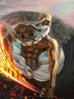 Yamamoto Genryuusai Shigekuni by Otaku Anime, Anime Naruto, Manga Anime, Bleach Fanart, Bleach Manga, Bleach Characters, Manga Characters, Arte Bruce Lee, Anime Hunter