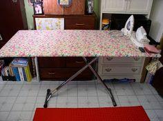 LuAnn Kessi: Big Board…  Big ironing board that fits over the regular ironing board!