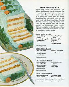 Betty Crocker Party Sandwich Loaf