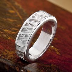 Personalized Name Ring in Sterling Silver by SorellaJewelry, $325.00