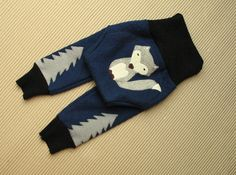 Nice wolf longies made by custom order. I love this idea of my customer, to make wolf applique and add trees on legs. Wolf lives in dark forest :) Cloth Diaper Covers, Cloth Diapers, Wolf Life, Dark Forest, Knitting Ideas, Applique, Weaving, Trees, Wool