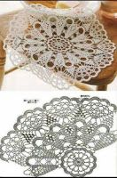 Hobby na Stylowi. Tina's handicraft : 82 designgs & patterns for tablecloth Blanket crochet pattern home Learn to knit and Crochet with 30 designs for table Salvabrani- will link to many patterns, also xmas decorations very lacy looking as displayed; Crochet Doily Diagram, Crochet Circles, Crochet Doily Patterns, Crochet Art, Thread Crochet, Knit Or Crochet, Filet Crochet, Irish Crochet, Crochet Designs