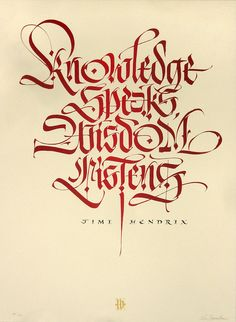 ✍ Sensual Calligraphy Scripts ✍ initials, typography styles and calligraphic art - by Luca Barcellona