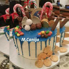 drip cake para Izan