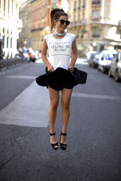 Celine Me Alone...fashion nerds, fashion jokes
