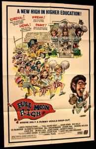 Full Moon High 1980 Original Movie Poster