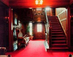 Interior+of+Glensheen+Mansion | This is the door that most guests of the Congdon's entered through.