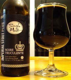 Simple Malt Imperial Stout Plus Noire Truculente   Brasseurs Illimités Beer Review via craftbeerquebec.ca #stout #imperialstout #craftbeer #bière #microbrasserie