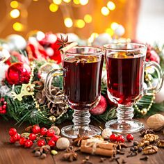 Snow Party, Mulled Wine, Wine Cheese, Smoothie Drinks, Appetisers, Christmas Love, Christmas Projects, Christmas Recipes, Greek Recipes