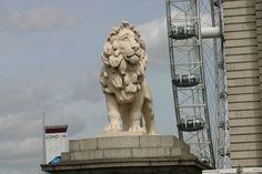 London Lion Sculpture, Statue, Spaces, London, Art, Kunst, Sculpture, London England, Art Education