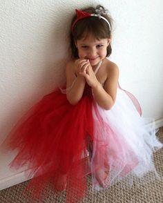 Angel/Devil tutu dress by thetinydiva on Etsy, $30.00