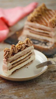 Our Nutella ice-box cake has layer upon layer of delicious creamy ice cream sandwiched together with all the Nutella you could ever need! # Food and Drink design treats Nutella Ice Box Cake Ice Cream Desserts, Frozen Desserts, Ice Cream Recipes, Easy Desserts, Delicious Desserts, Delicious Chocolate, Ice Cream Cakes, Cook Desserts, Ice Cream Treats