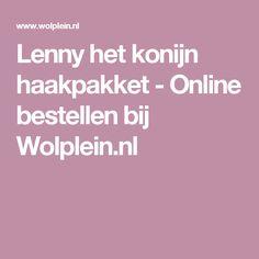 Lenny het konijn haakpakket - Online bestellen bij Wolplein.nl