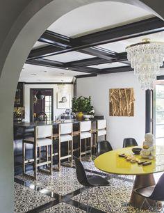 A Granada Tile Normandy Cement Tile Floor Brings Elegance