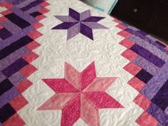 Lemoyne Star Quilts, Blanket, Stars, Projects, Log Projects, Comforters, Blankets, Patch Quilt, Kilts