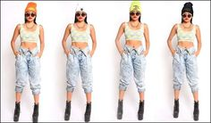 Beanie & Crop top sneak preview for our SS13 collection! clumsy-cat.com Bi Memes, Fashion Line, Harem Pants, Beanie, Crop Tops, Cat, Clothes For Women, Collection, Outerwear Women