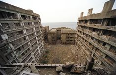 Hashima Island, Japan – A perfect example of human residue and soul left to decay.
