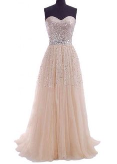 Love the way this sparkles, could be a prom or wedding dress
