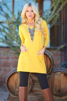 """Cute As A Button Tunic from Closet Candy Boutique - - Promo code """"repashley"""" for 10% OFF+FREE shipping!!"""