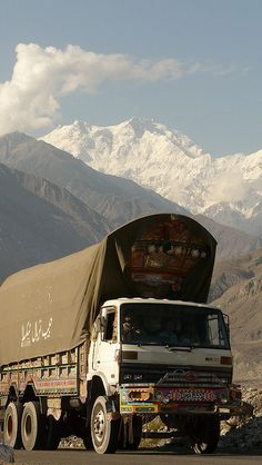 Nanga Parbat (Karakorum Highway, Pakistan) by Amaia eta Gotzon, via Flickr