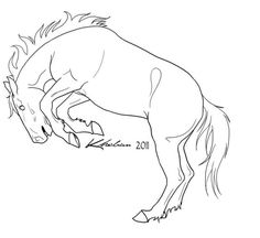 Coloring Pages: Bucking horse coloring pages Pencil Drawings Of Animals, Horse Drawings, Horse Coloring Pages, Coloring Books, Horse Stencil, Horse Riding Quotes, Cute Donkey, Horse Sketch, Free Horses