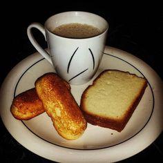 antojo 11-11 mañanero..Twinkies Panqué y café con leche..