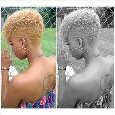 Short Natural Hairstyles For Black Women Trending for Summer 2014