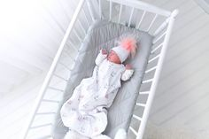 Soft, Safe, Cozy Design Ely & Co's unique baby sack attires your delicate baby girl in the perfect sleep apparel. Crafted from the softest fabric, 100% natural cotton, this wearable sleep bag is lightweight and composed of breathable material. Machine washable for busy moms, this sack has easy and simple care.  #nursery #nurserydiy #diy #baby ##diynursery #quilting #greybedding