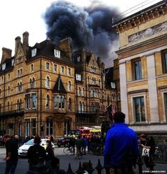 Oxford's five-star Randolph Hotel hit by fire