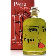 Pepa.  Such a great packaging design for olive oil IMPDO.