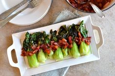 KITCHEN TESTED – Plum Braised Baby Bok Choy