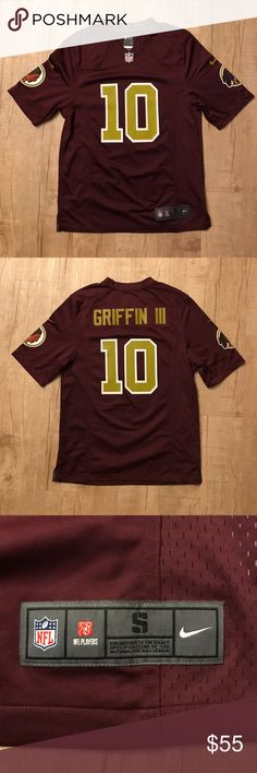 Washington Redskins RG3 Nike Jersey Excellent condition Nike Washington Redskins Robert Griffin III Jersey | Size: S Nike Other
