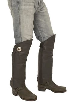 Wide Studded Boot Straps