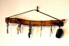 Looking for other project inspiration? Check out Key hook holder - Key hanger by member BessiesCreation. - via @Craftsy