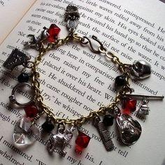twilight charm bracelet bella edward jewelry