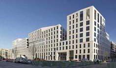 LE PETRA - Offices - Boulogne - France - Stones: Moca Cream Gross Gain