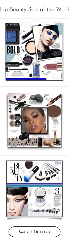 """""""Top Beauty Sets of the Week"""" by polyvore ❤ liked on Polyvore featuring beauty, Givenchy, MAC Cosmetics, NARS Cosmetics, L'Oréal Paris, Marc Jacobs, Beauty, makeup, beautyset and boldeyes"""
