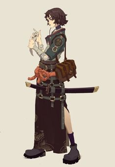 Big Sister by Ying Shi Female Character Design, Character Creation, Character Design References, Character Design Inspiration, Character Concept, Character Art, Concept Art, Dnd Characters, Fantasy Characters