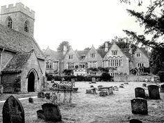 Asthall Manor and St. Nicholas Church
