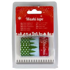 made by me washi tape kerst 3st 15x3mm